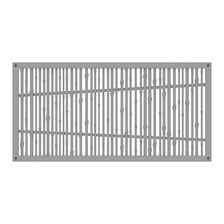 Xpanse Greater Outdoors Decorative Screen Panel Bungalow Clay, 73042817