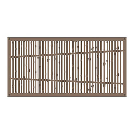 Xpanse Greater Outdoors Decorative Screen Panel Bungalow Saddle, 73042818