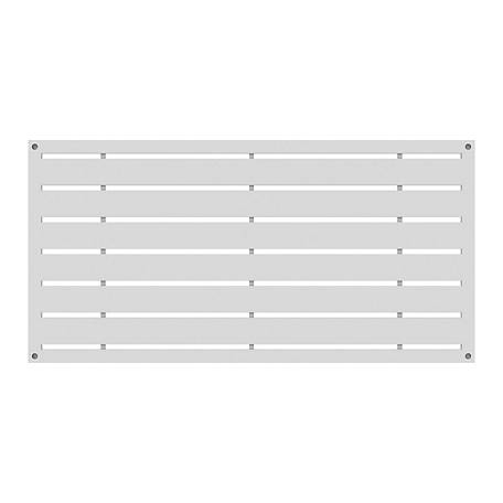 Xpanse Greater Outdoors Decorative Screen Panel Boardwalk White, 73042821