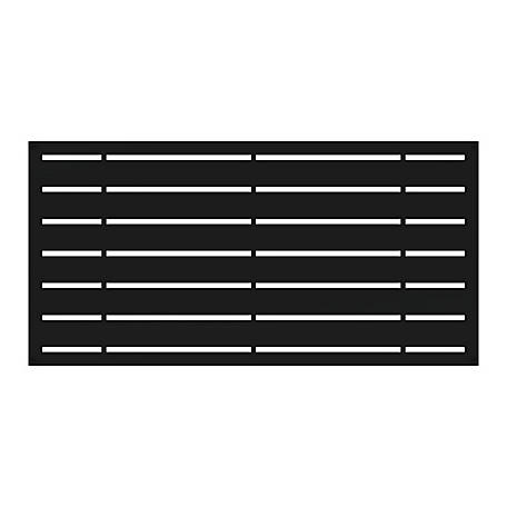 Xpanse Greater Outdoors Decorative Screen Panel Boardwalk Black, 73042822