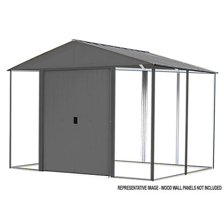 Arrow Iw Steel Hb Shed Kit 8 X 8Gal Aracite, IWA88