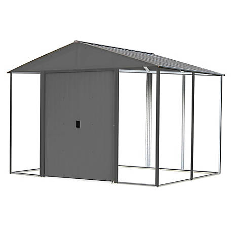 Arrow Iw Steel Hb Shed Kit 10 X 8Anthracite, IWA108