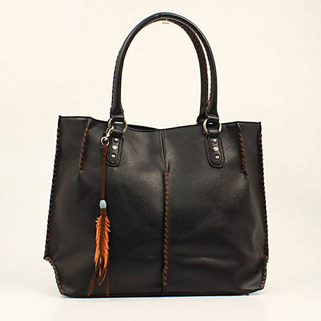 Blazin Roxx Teagan Tote Concealed Weapon Black/Tan N7510067