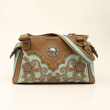 Blazin Roxx Calico Kate Satchel Concealed Weapon Brown N770001002
