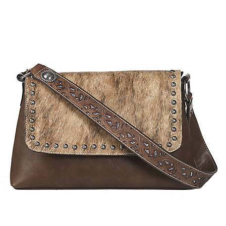 Blazin Roxx Lynlee Flap Shoulder Concealed Weapon Brown N770002002