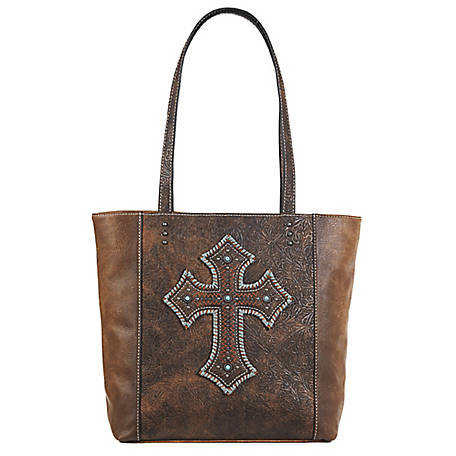 Blazin Roxx Harper Tote Concealed Weapon Medium Brown N770002844