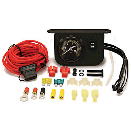 Viair Illuminated Dash Panel Gauge Kit 150 Psi, 10061