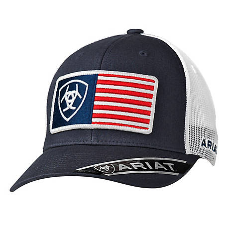 Ariat Men's USA Flag Patch Navy