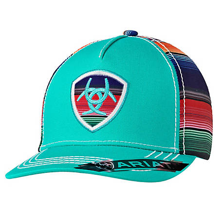 Ariat Ladies Serape Patch Turquoise