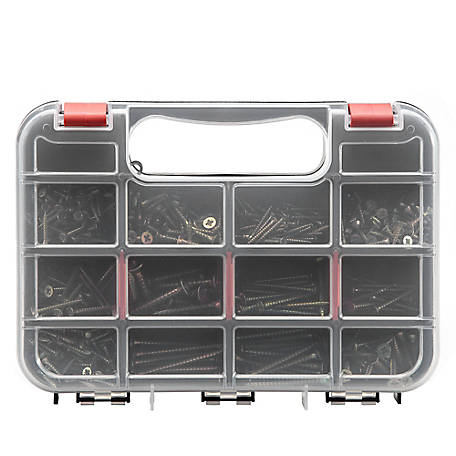 Barn Star Chipboard Screw Set, 490 Pieces, 19T225