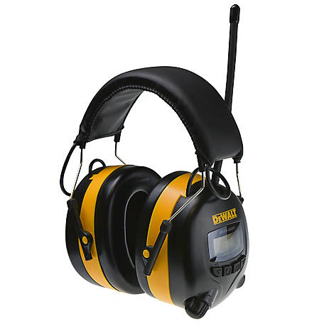 DeWALT Digital Amfm Radio Hearing Protect, DPG15