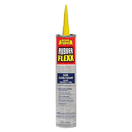 Leak Stopper Rubber Flexx Clear 10 oz. Tube, 0309-GA