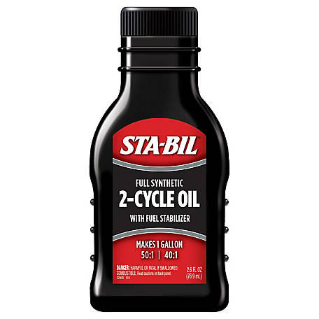 Sta-Bil 2-Cycle Oil, 2.6 oz., 22403