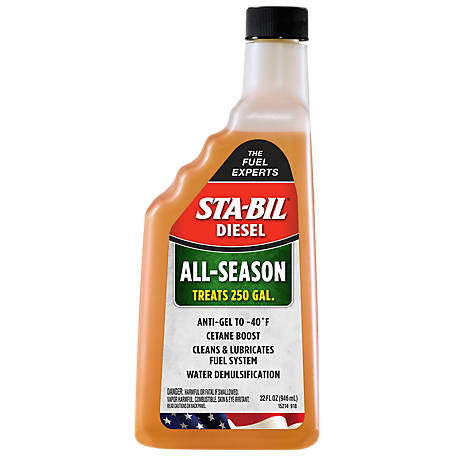 Sta-Bil Diesel All-Season Diesel Additive, 32 oz., 15214