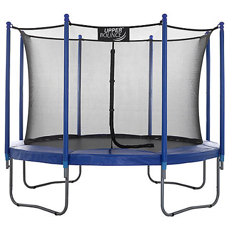 Upper Bounce 10 ft. Trampoline with Enclosure Set, UBSF01-10