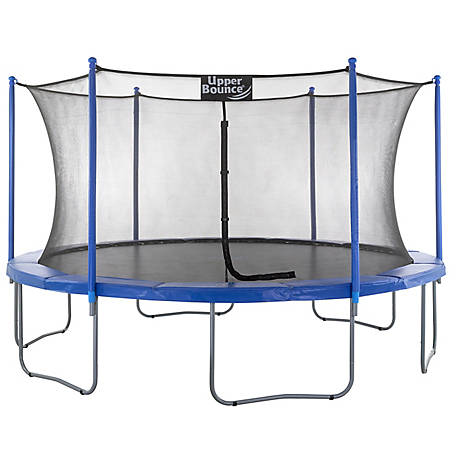 Upper Bounce 14 ft. Trampoline with Enclosure Set, UBSF01-14