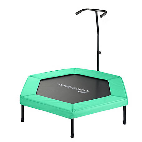 Upper Bounce 50 Hexagonal Mini Trampoline, Green, UBG-HX50-GR