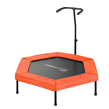 Upper Bounce 50 Hexagonal Mini Trampoline, Orange, UBG-HX50-OR