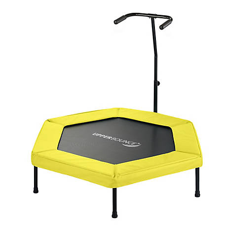 Upper Bounce 50 Hexagonal Mini Trampoline, Yellow, UBG-HX50-YL