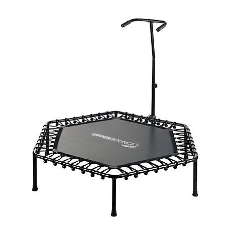 Upper Bounce 50 in. Hexagonal Fitness Mini Trampoline, SK-HX50