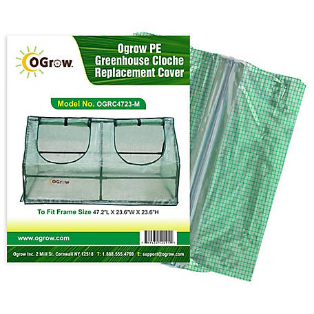 Ogrow Cloche Greenhouse Replacement Cover, OGRC4723-M