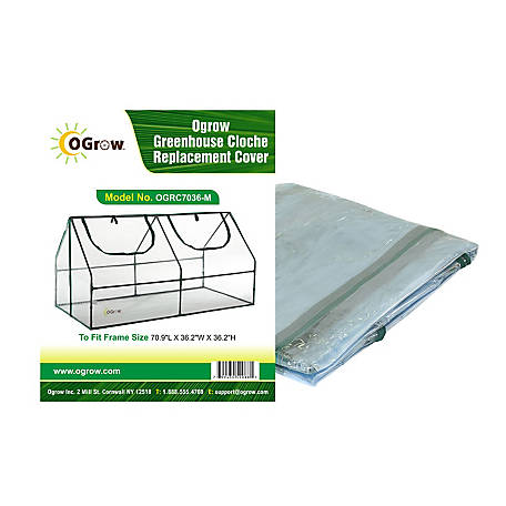 Ogrow Greenhouse Close Replacement Cover, OGRC7036-M