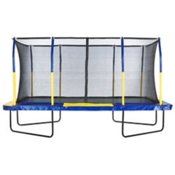 Shop Upper Bounce Mega 9 x 15 Rectangle Trampoline-Blue/Yellow, at Tractor Supply Co.
