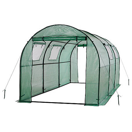 Ogrow 2 Door Walkin Tunnel Greenhouse, OG17778-PEG