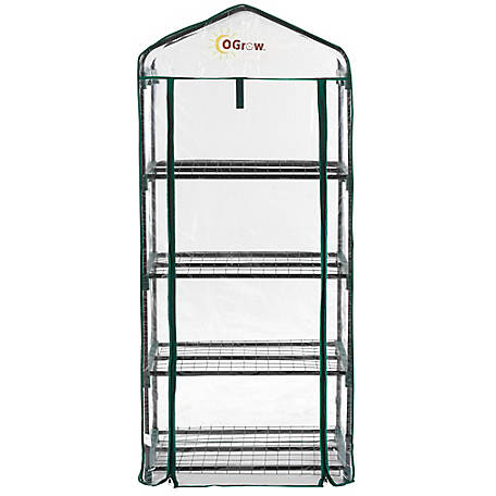 Ogrow 4 Tier Portable Bloomhouse, OG2719-4T
