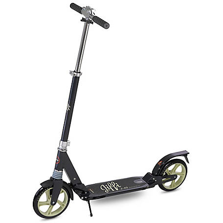 Scooride Jiffi Adult Kick Scooter, Black, SRJ01-BK