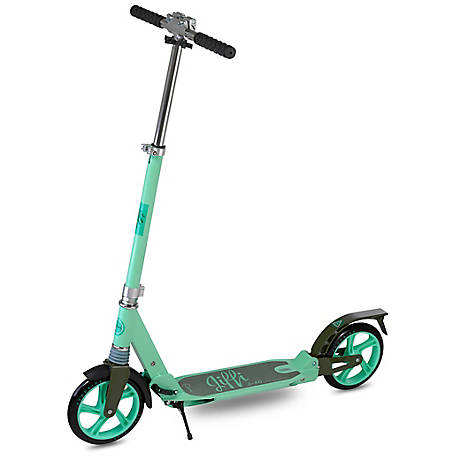 Scooride Jiffi Adult Kick Scooter, Green, SRJ01-GN