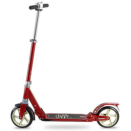 Scooride Jiffi Adult Kick Scooter, SRJ01-RD