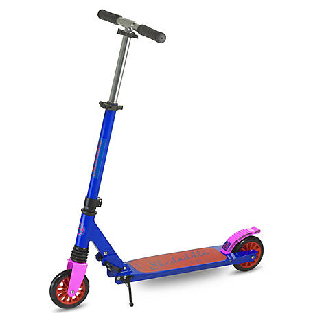 Scooride Skedaddle Adult Kick Scooter, Blue, SRS01-BL