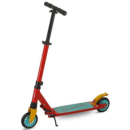 Scooride Skedaddle Adult Kick Scooter, SRS01-RD