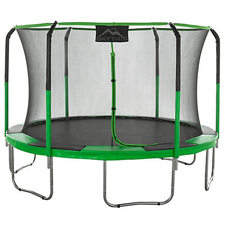 Upper Bounce Skytric 11 ft. Trampoline with Enclosure, UB03EC-11E