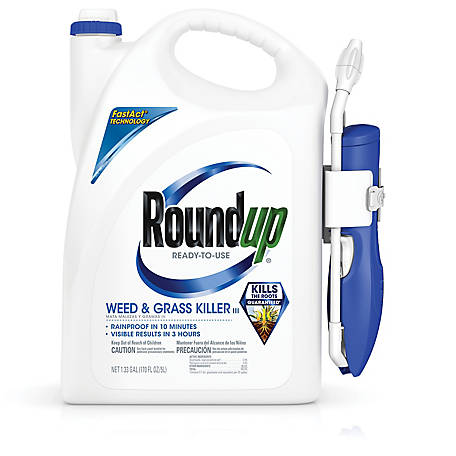 Roundup Ready-To-Use Weed & Grass Killer III Wand 1.33 gal., 5200210