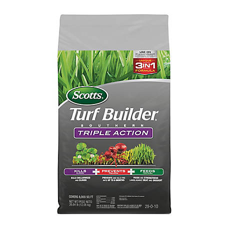 Scotts Turf Builder Southern Triple Action 26.64 lb., 26008A