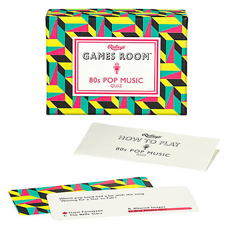 Ridley's Games 80S Pop Music Quiz, AGAM045