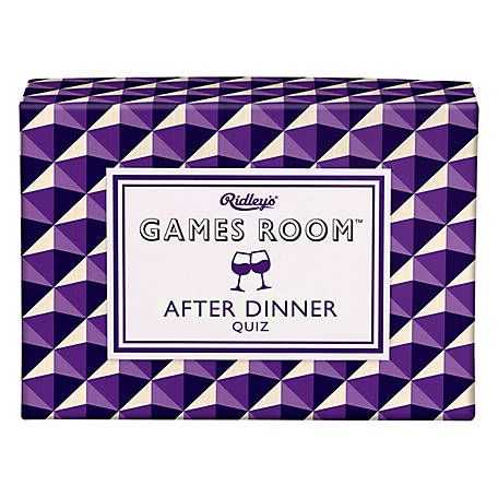 Ridley's Games After Dinner Quiz, AGAM076