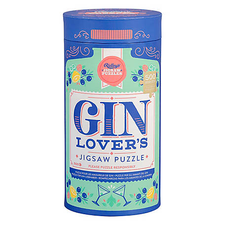 Ridley's Games Puzzle 500 pc. Gin Lovers 50 x 35 cm, 20 in., AJIG040