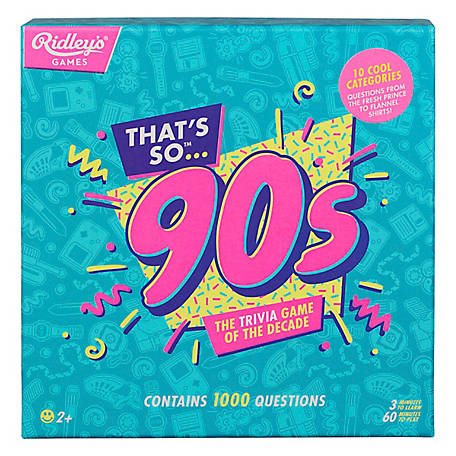 Ridley's Games Thats So 90S Quiz USA, AQUZ003