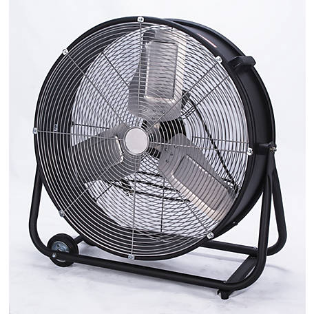 Royal Sovereign Industrial 24 in. Drum Fan, RACC-HV24