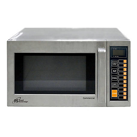 Royal Sovereign Commercial Microwave .9 cu. ft., RCMW-100025SS