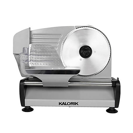 Kalorik 200 W Professional Food Slicer Silver, AS 45493 S