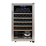 Kalorik 33 Bottle Wine Cooler, WCL 43915 SS