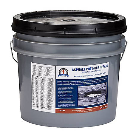 1 Shot Asphalt Pot Hole Repr 4 gal. Bucket, 1S-APHR