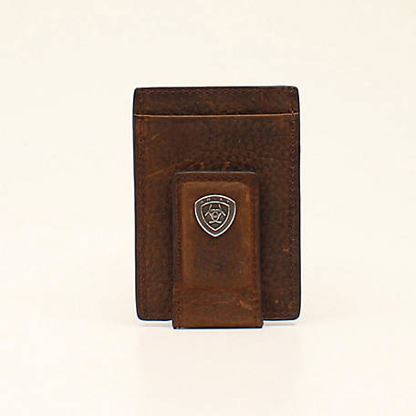 Ariat Moneyclip Logo Brown Rowdy A35123282