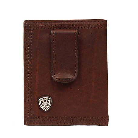 Ariat Bifold Logo Dark Copper A35124283