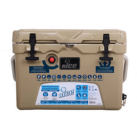 nICE 20Qt Cooler-Tan, CKR-517301