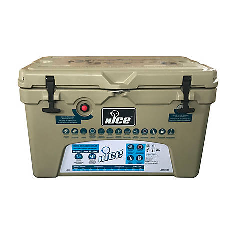 nICE 45Qt Cooler-Tan, CKR-517318
